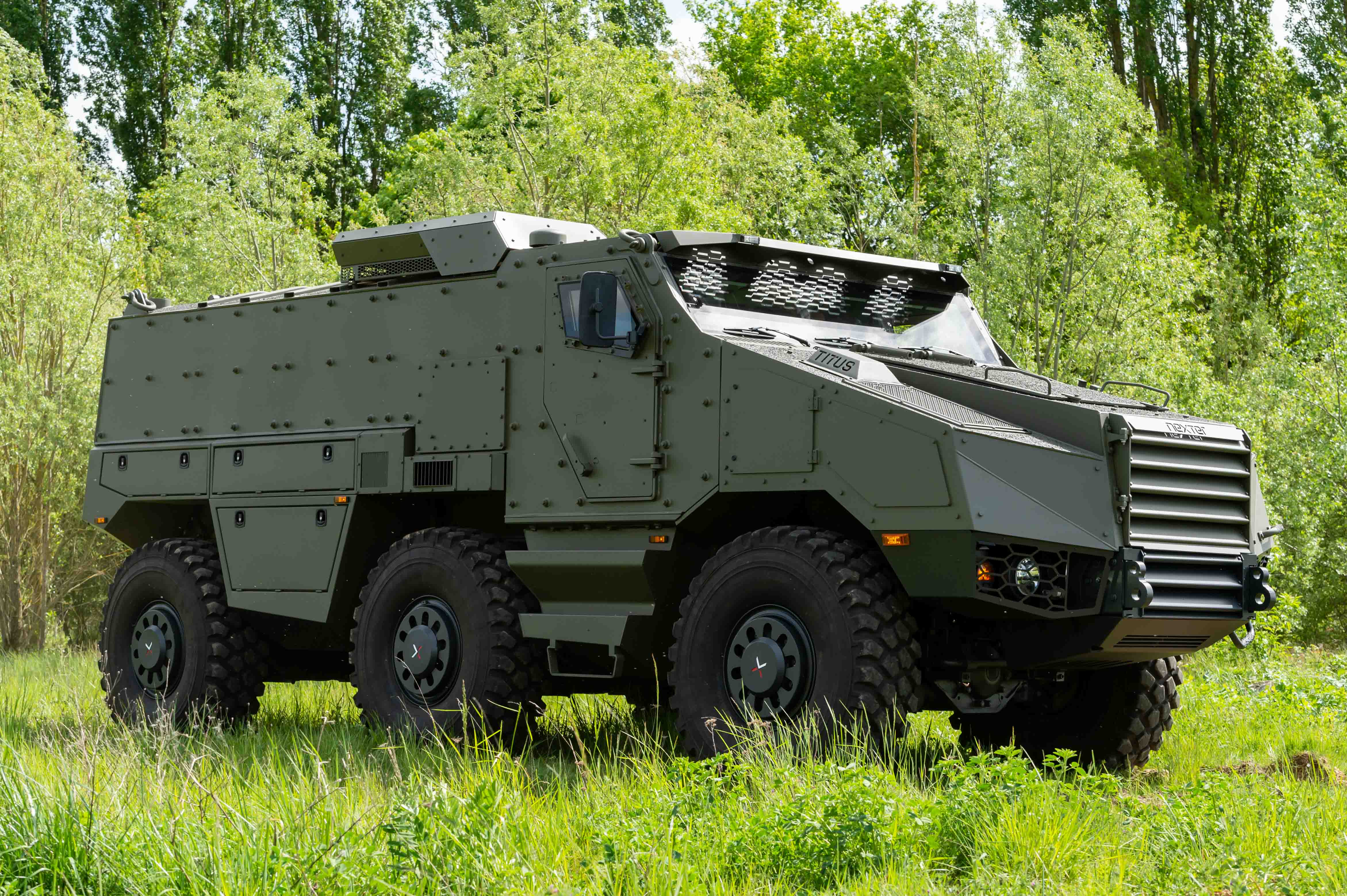 Czech Republic Signed the Acquisition Contract for 62 TITUS® | Nexter
